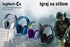Logitech G733 gaming slušalice
