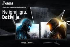 Iiyama Black Hawk Gaming monitori
