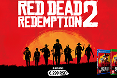 PS4/Xbox - Red dead redemption 2