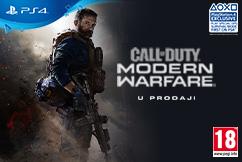 Call of Duty Modern Warfare u prodaji