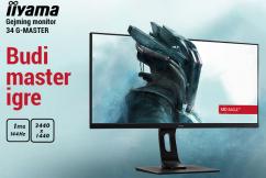 iiyama 34 G-Master Red Eagle Gaming monitor