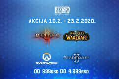 Blizzard veliko sniženje