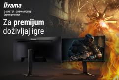 Iiyama Red Eagle G-Master GB3466WQSU-B1 Gaming monitor