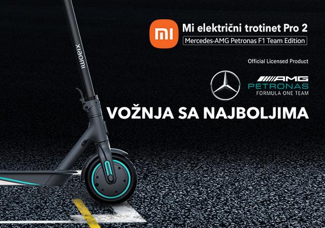 Xiaomi električni trotinet PRO 2 AMG Mercedes