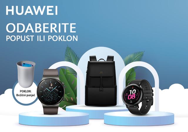 Poklon uz Huawei pametne satove i popust uz narukvice