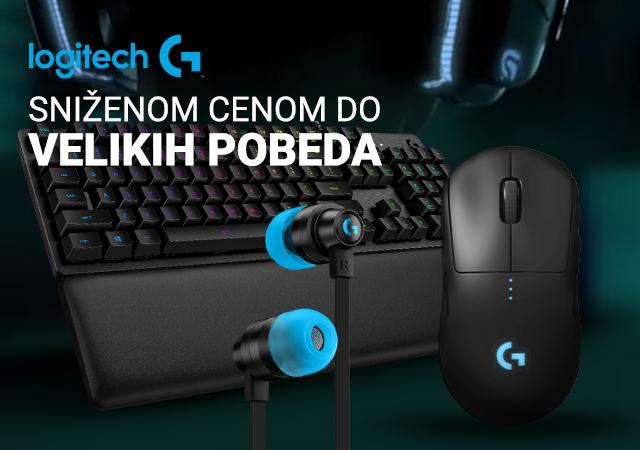 Logitech G Gaming oprema na popustu