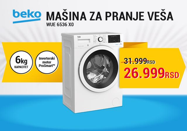 Beko mašina za pranje veša po sniženoj ceni