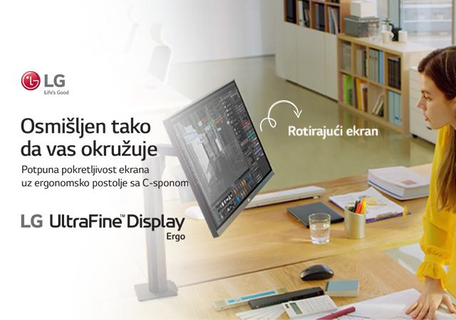 LG Ergo – monitori koji se prilagođavaju vama