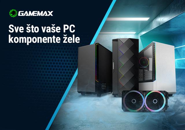 GameMax gaming kućišta i hlađenja