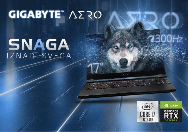 Gigabyte laptop računari - snaga iznad svega
