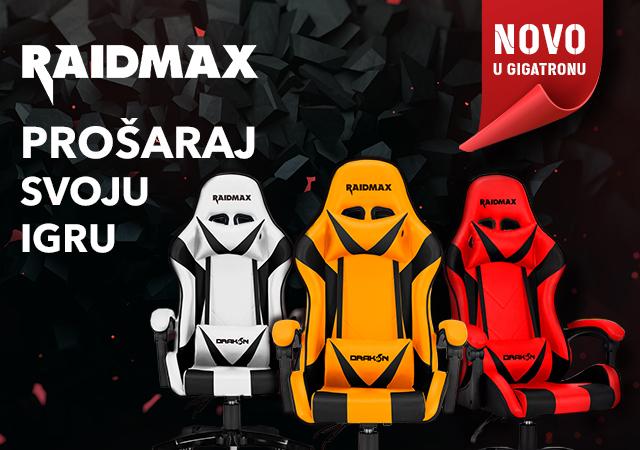 Raidmax gejmerske stolice - novo u ponudi