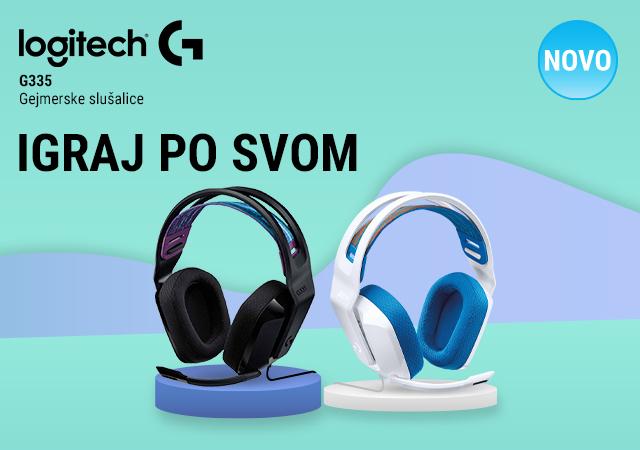 Logitech G335 žičane Gaming slušalice u ponudi