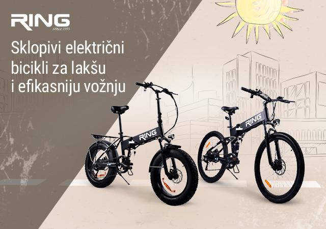 Novi Ring električni bicikli