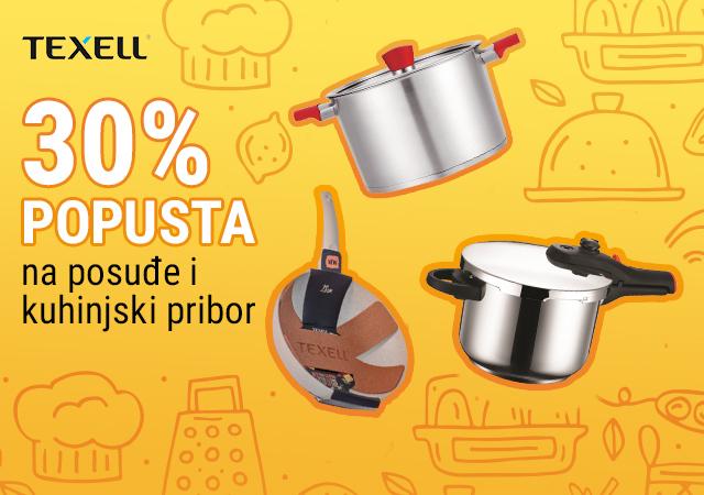 30% popusta na Texell posuđe i kuhinjski pribor