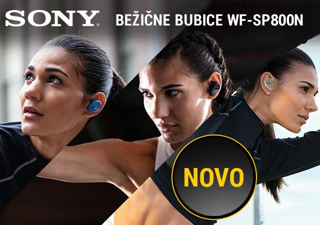 Sony WF-SP800N sportske bluetooth bubice