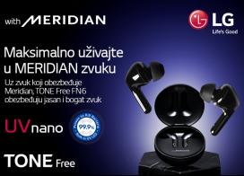 LG Tone Free slušalice po sniženoj ceni + bundle