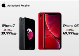 Snižene cene iPhone 7 i iPhone XR telefona