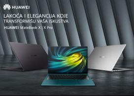 Snižene cene Huawei MateBook laptop računara