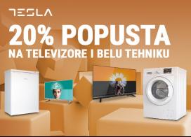 20% popusta na Tesla televizore i belu tehniku