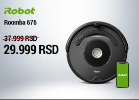 Uštedite 8.000 RSD uz iRobot Roomba usisivač