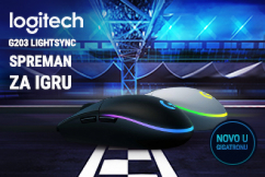 Logitech G203 Lightsync Gaming miš
