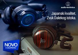 Audio Technica slušalice - novo u Gigatronu