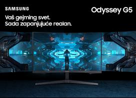 Samsung Odyssey G5 zakrivljeni Gaming monitor