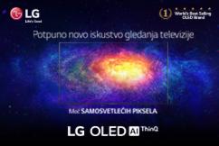 LG OLED televizori za potpuno novo iskustvo gledanja