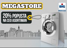 Otvaranje Megastore prodavnice u Novom Sadu uz 20% popusta