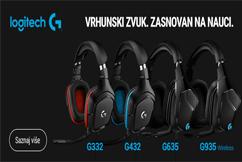Logitech Gaming Slušalice