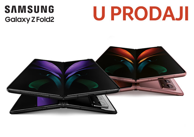 Samsung Galaxy Z Fold 2 - doživite oblik budućnosti