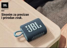 JBL GO 3 zvučnici - moćan zvuk u malom pakovanju