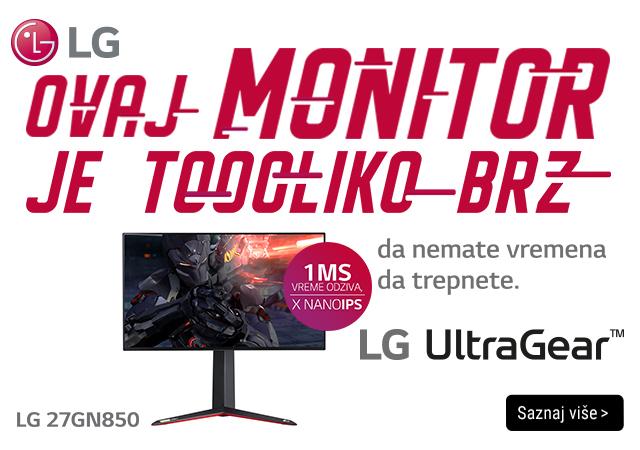 LG Ultra Gear Gaming monitori