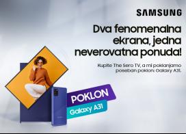Samsung The Sero televizor + poklon Galaxy A31