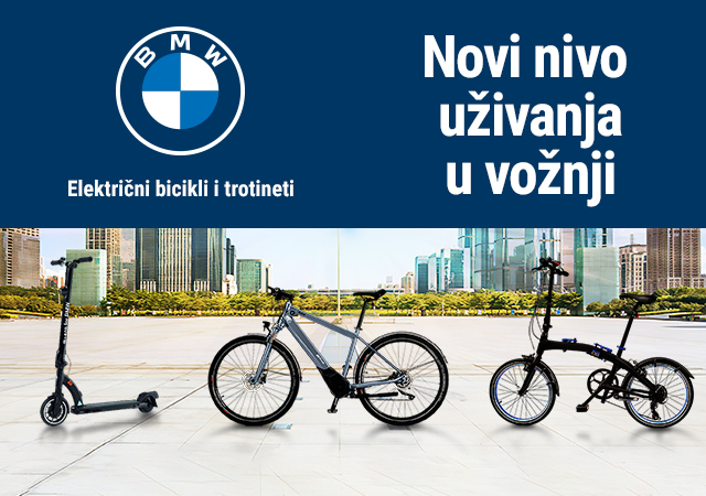 BMW električni bicikli i trotineti