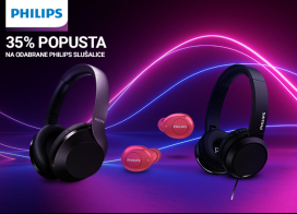 35% popusta na Philips slušalice