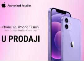 iPhone 12 i iPhone 12 Mini u novoj ljubičastoj boji