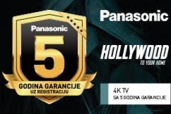 Panasonic 4K televizori - 5 godina garancije