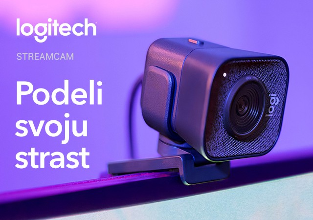 Logitech StreamCam kamera
