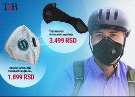 T'nB UMMASK zaštitna maska protiv zagađenja