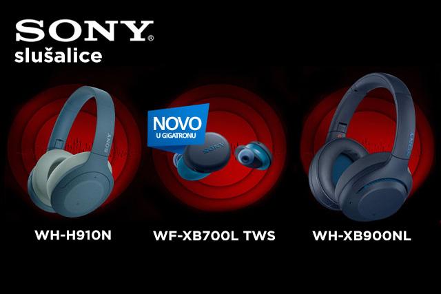 Nove Sony bežične slušalice