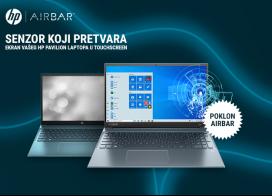 HP Pavilion laptop računari + AirBar senzor