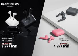Happy Plugs slušalice na popustu