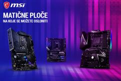 MSI matične ploče za Intel i AMD procesore