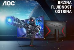 AOC gaming monitori za vrhunsko iskustvo igre