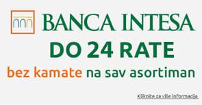 Banca Intesa do 12 rata bez kamate
