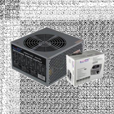 LC-Power napajanje 600W LC600H-12 V2.31 12CM FAN  600W, Standardno, ATX (PS2)