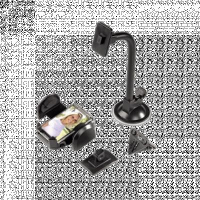 HAMA Univerzalni auto držač za mobilni telefon/GPS uredjaj - 62409  Auto držač za mobilni telefon, Crna