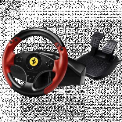 THRUSTMASTER gejmerski volan FERRARI RED LEGEND EDITION (Crno/Crveni) - 4060052  Sekvencijalni menjač, Gas i kočnica, Windows, PlayStation