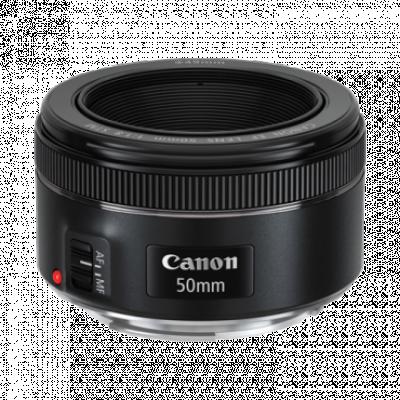 Objektiv CANON EF 50mm f/1.8 STM - 0570C005,  Canon EF bajonet, Pun format, 50 mm, f/1.8
